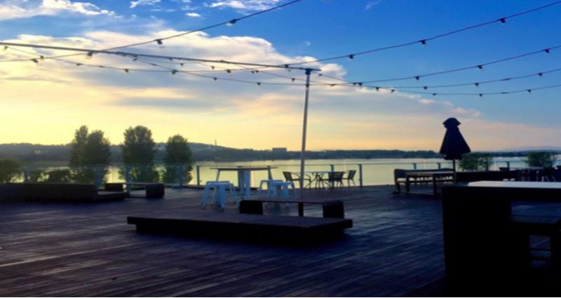The Deck at Regatta Point